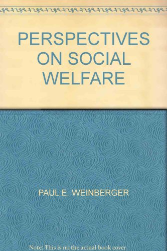 9780024251602: Perspectives on Social Welfare