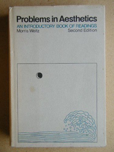 9780024252906: Problems in Aesthetics: An Introductory Book of Readings