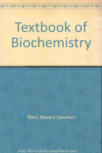9780024258908: Textbook of Biochemistry