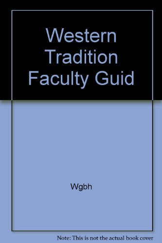 9780024266309: Western Tradition Faculty Guid