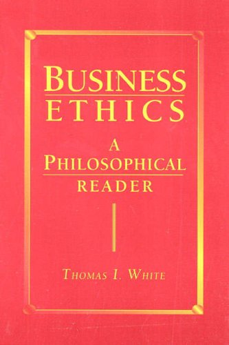 9780024272218: Business Ethics: A Philosophical Reader