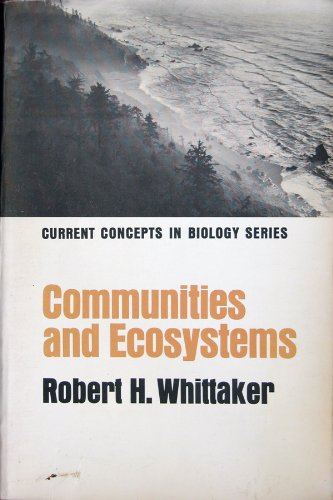 9780024274007: Communities and Ecosystems (Concepts in Current Biology)