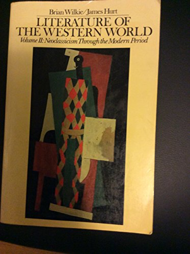 9780024276803: Literature of the Western world