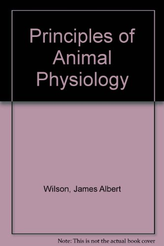 9780024283603: Principles of Animal Physiology