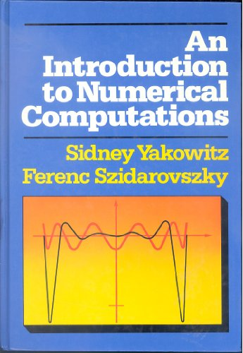 9780024308108: An Introduction to Numerical Computations