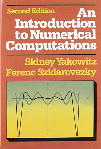 9780024308214: An Introduction to Numerical Computations