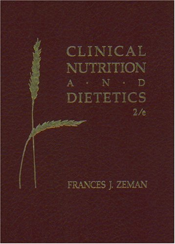 9780024315106: Clinical Nutrition and Dietetics (2nd Edition)