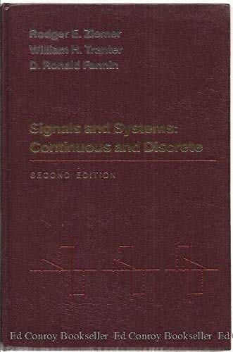 9780024316301: Signals and Systems: Continuous and Discrete
