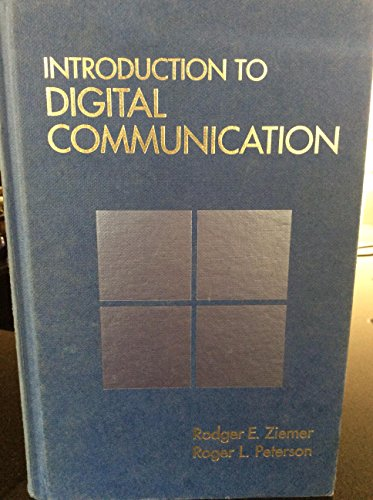 9780024316813: Introduction to Digital Communication