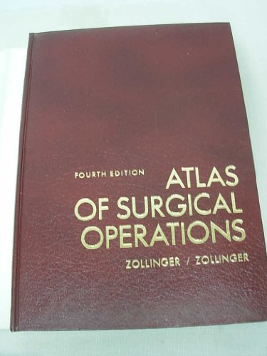 9780024319906: Atlas of Surgical Operations