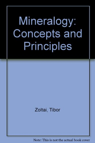 9780024320100: Mineralogy: Concepts and Principles