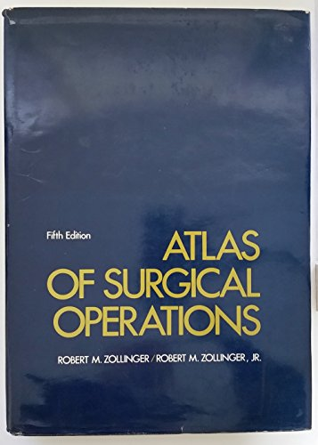 9780024320308: Atlas of Surgical Operations
