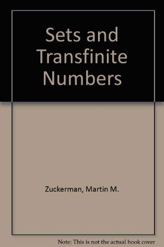 9780024321107: Sets and Transfinite Numbers