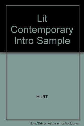9780024392183: Lit Contemporary Intro Sample