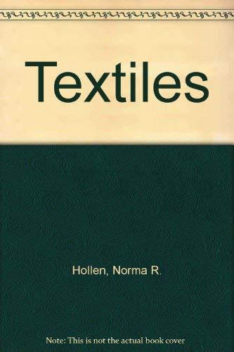 9780024396907: Hollen N: Textiles 6e