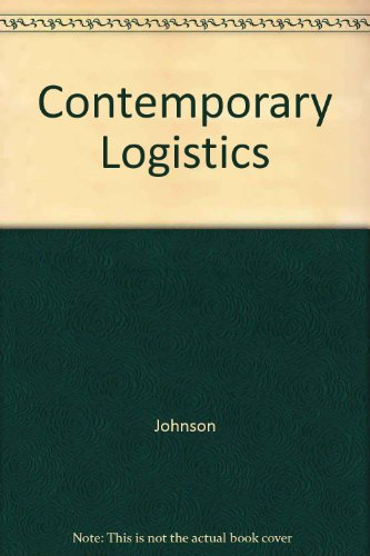 9780024398871: Contemporary Logistics