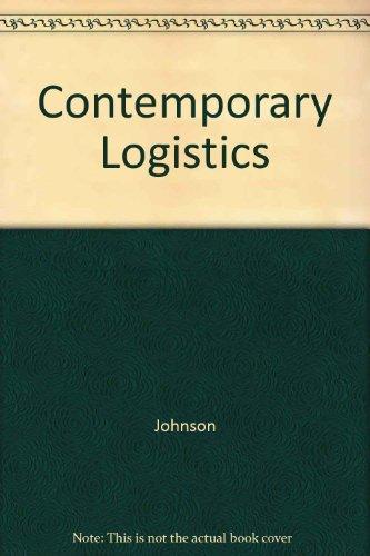 9780024398871: Contemporary Logistics