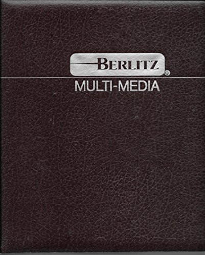 """Coffret M?thode Berlitz anglais """"Moving ahead in: n/a"""