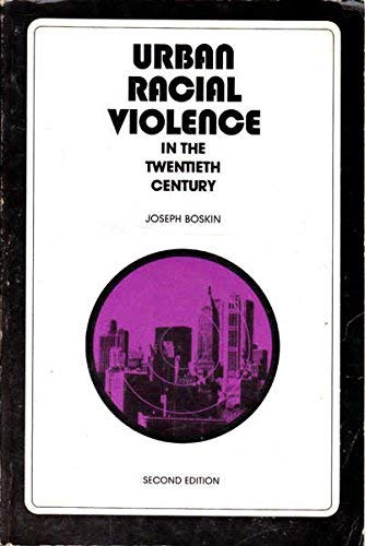 9780024708908: Urban Racial Violence in the Twentieth Century