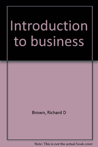 9780024713100: Introduction to business