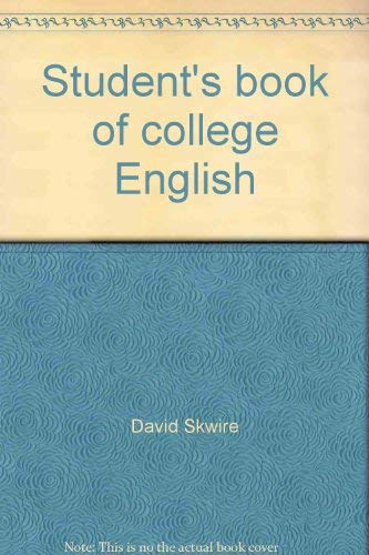 9780024718006: Student's Book of College English