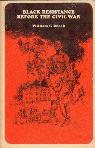 9780024735508: Black Resistance Before the Civil War