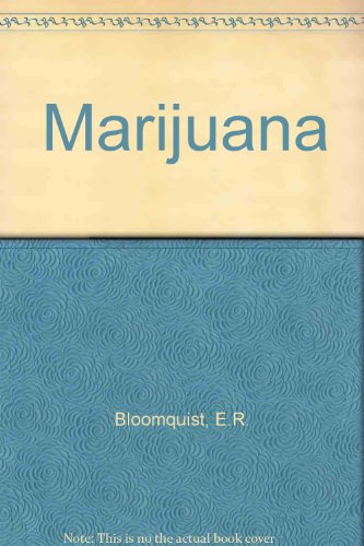 9780024737106: Marijuana