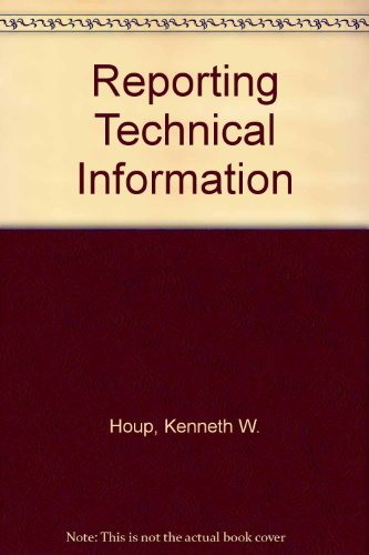 REPORTING TECHNICAL INFORMATION. Fifth Edition.