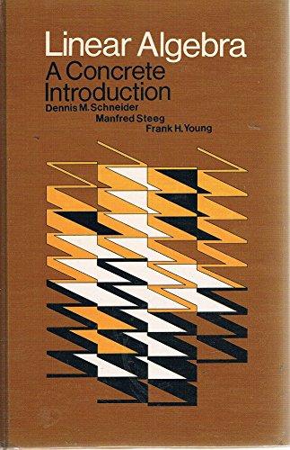 9780024768100: Linear Algebra: A Concrete Approach
