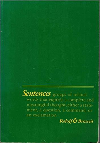 9780024774002: Sentences