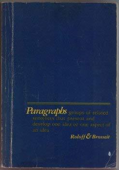 9780024774101: Paragraphs