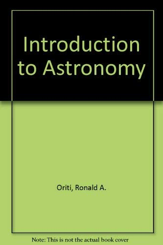 9780024785602: Introduction to Astronomy