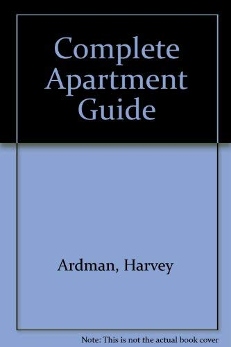 9780025001107: Complete Apartment Guide