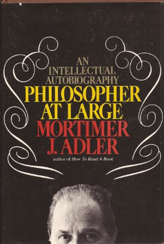 9780025004900: Philosopher at Large: An Intellectual Autobiography
