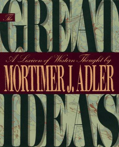 9780025005730: The Great Ideas: A Lexicon of Western Thought
