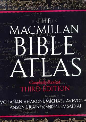 9780025006058: The Macmillan Bible Atlas