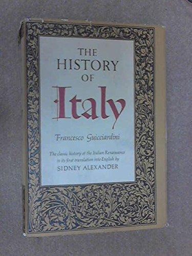 The History Of Italy: Francesco Guicciardini