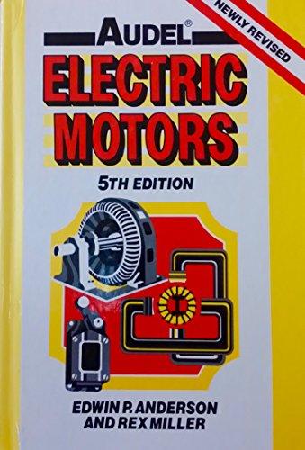 9780025019201: Electric Motors 5th Ed. Cl (Audel Electric Motors)