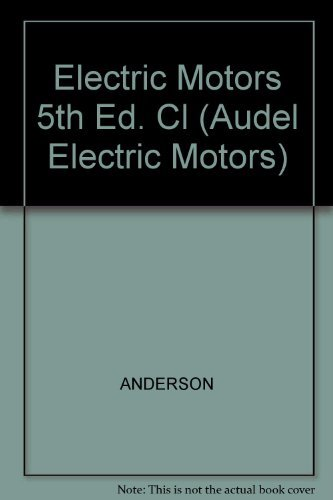 9780025019201: Electric Motors (Audel Electric Motors)