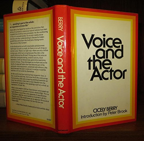 9780025103702: Voice and the Actor