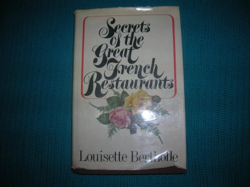 9780025104501: Secrets of the great French restaurants