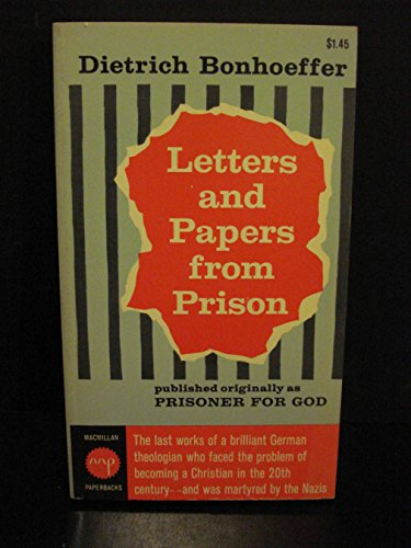 9780025131101: Letters and Papers from Prison