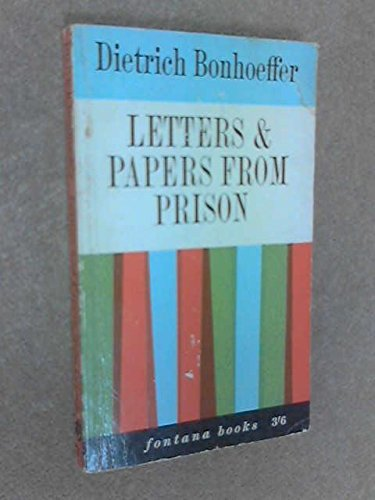 9780025131101: Letters & Papers from Prison
