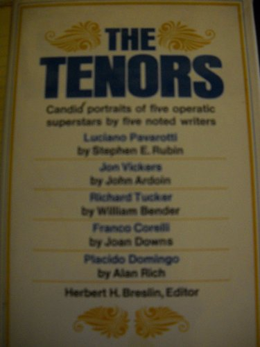9780025150003: The tenors