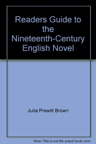 9780025173705: Readers Guide to the Nineteenth-Century English Novel