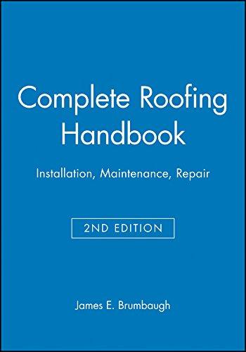 9780025178519: Complete Roofing Handbook: Installation, Maintenance, Repair