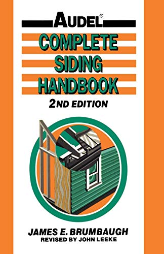 9780025178816: Complete Siding Handbook: Installation Maintenance Repair