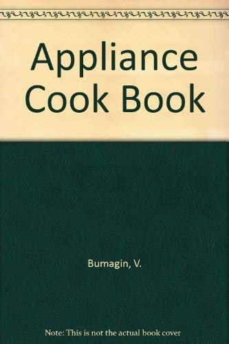 9780025180901: Appliance Cook Book