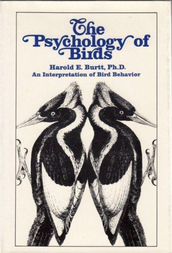 9780025185500: The Psychology of Birds