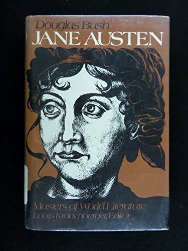 9780025196001: Jane Austen (Masters of World Literature Series)